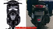 Yamaha Nmax 155 Update Spyshot Led Tail Lamp Compa