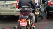 Royal Enfield Continental Gt 650 Bs Vi Spied Rear