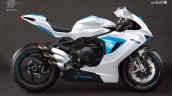 One Off Mv Agusta F3 800 For Unicef Right Side