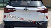 2020 Kia Kx3 Kia Seltos Rear