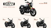 Yamaha Xsr155 Colour Options