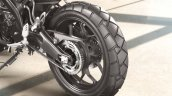 Yamaha Xsr155 Press Images Rear Wheel And Tyre