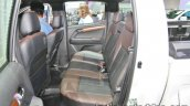 Isuzu D Max V Cross Rear Seats At 2016 Thai Motor
