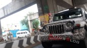 2020 Mahindra Thar Front Fascia Spy Photo