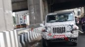 2020 Mahindra Thar Front Spy Photo