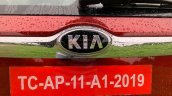 Kia Seltos Exterior Rear Badge Image Af19