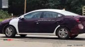 2019 Hyundai Elantra Spied White Blue 1