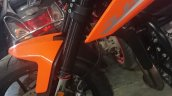 Ktm 790 Duke Spied In India Front Forks