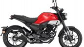Honda Cbf190tr Press Images Red Paint Right Side