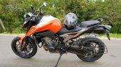 Ktm 790 Duke Spotted In India Again Left Side