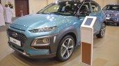 Hyundai Kona Front Three Quarters Left Side At 201