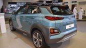 Hyundai Kona Rear Three Quarters At 2017 Dubai Mot