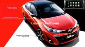 Toyota Yaris Facelift With Dual Tone Colour Launch