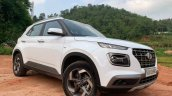 2019 Hyundai Venue Front Three Quarters White 2 4d