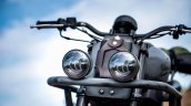 Modified Yamaha Xsr155 K Speed Headlight Close Up