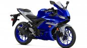 2020 Yamaha R3 Front Three Quarters Studio Icon Bl
