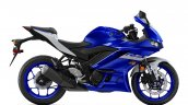 2020 Yamaha R3 Side Profile Studio Icon Blue