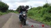 Bajaj Pulsar 125 Action Shot Front