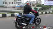 Bajaj Pulsar 125 Action Shot Right Rear Quarter