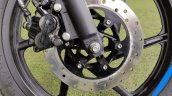 Bajaj Pulsar 125 Detail Shots Front Disc Brake