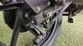 Bajaj Pulsar 125 Detail Shots Rear Drum Brake