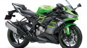 Kawasaki Zx 6r Front Three Quarter Studio