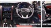 2019 Toyota Fortuner Trd Sportivo Brochure Leak 3