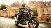 Suzuki Sv650 Black Action Right Front Quarter 997b