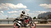 Suzuki Sv650 Black Action Right Side