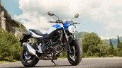 Suzuki Sv650 Blue Still Right Front Quarter