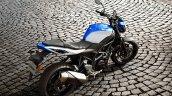 Suzuki Sv650 Blue Still Right Rear Quarter