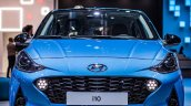 Euro Spec 2019 Hyundai I10 Blue Front At Iaa 2019