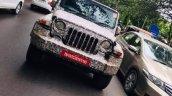 2020 Mahindra Thar Spied 1