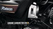 Tvs Radeon Special Edition Chrome Carburetor Cover