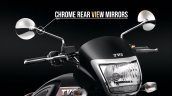 Tvs Radeon Special Edition Chrome Rearview Mirrors