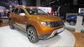 2018 Dacia Duster Front Three Quarters Left At Iaa