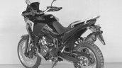 2020 Honda Africa Twin Adventure Model Left Rear Q