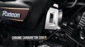 Tvs Radeon Special Edition Chrome Carburetor Cover