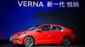 Chinese Spec 2020 Hyundai Verna Facelift Left Side