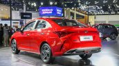 Chinese Spec 2020 Hyundai Verna Facelift Rear Thre