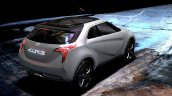 Hyundai Curb Concept Rear Three Quarters