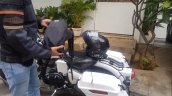 Vatanukul Helmet Air Conditioner Backpack And Helm