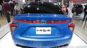 Toyota Mirai Rear At Auto Expo 2016
