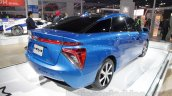 Toyota Mirai Rear Three Quarter At Auto Expo 2016