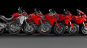 Multistrada Family Over The Years