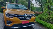 Renault Triber Test Drive Review Images Front 5