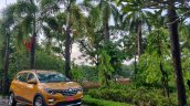 Renault Triber Test Drive Review Images Front Thre