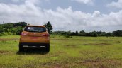 Renault Triber Test Drive Review Images Rear 2