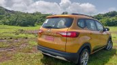 Renault Triber Test Drive Review Images Rear Three
