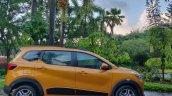 Renault Triber Test Drive Review Images Side Profi